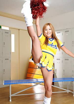 Cheerleader Asian Pics