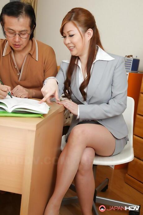 Teacher Asian Pics